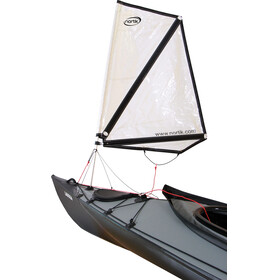 nortik Kayak Sail 1.0 - for Faltboats blanc
